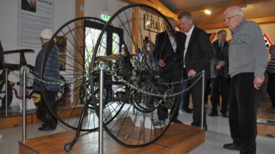 Vorschaubild zur Meldung: Museumsfreunde im Fahrradfieber