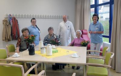 Vorschaubild zur Meldung: Tagesklinik für Altersmedizin begrüßt erste Patienten