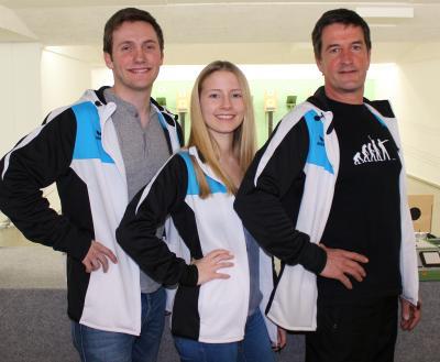 Unsere neuen Übungsleiter - Georg Isemann, Lisa Forstner und Georg Forstner