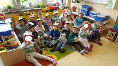 """Foto zur Meldung: Osterfest bei der """"Buratino""""-Kids"""