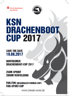 Plakat KSN Drachenboot - Cup 2017