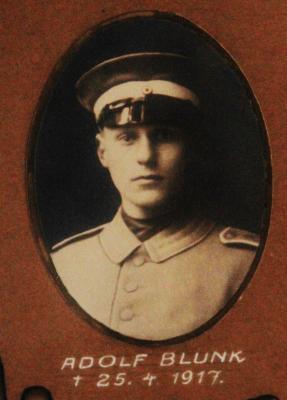 Foto zur Meldung: Vor 100 Jahren: Adolf Blunk gefallen