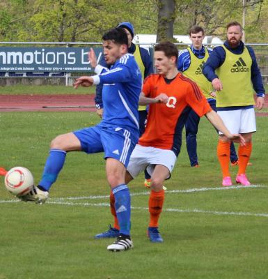Foto zu Meldung: Landesliga: SG Quelle Fürth - FC Vorwärts 0:0