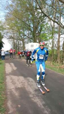 Foto zu Meldung: 1.Klennower-Skiroller-Marathon