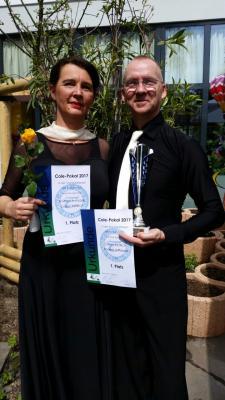 Foto zu Meldung: Erfolgreiches Turniertanzpaar