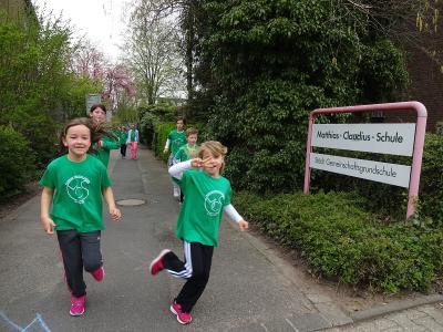 Foto zur Meldung: Sponsorenlauf: Unsere Kinder laufen von Kaarst nach Mallorca!