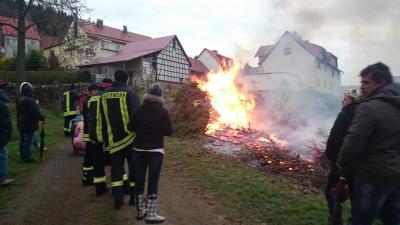 Osterfeuer in Andenhausen