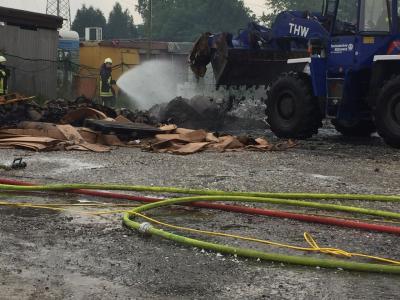 Foto zu Meldung: Großfeuer im Kölner Norden