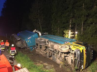 Vorschaubild zur Meldung: LKW-Unfall auf der Westtangente