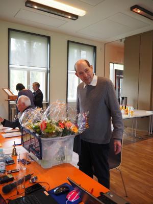 Foto zur Meldung: Matthias Marr als Vorsitzender wiedergewählt