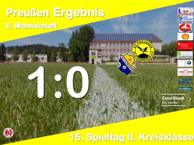 Vorschaubild zur Meldung: +++ Ergebnis 15. Spieltag 2. Kreisklasse +++