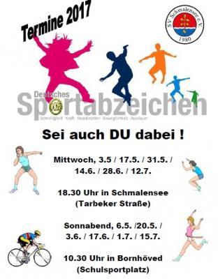 Foto zu Meldung: Breitensport-Orden zu vergeben -  Deutsches Sportabzeichen beim SV Schmalensee