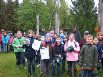 Foto zur Meldung: Waldjugendspiele im Gadower Forst