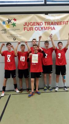 Foto zur Meldung: Bundesfinale der WKIII im Volleyball