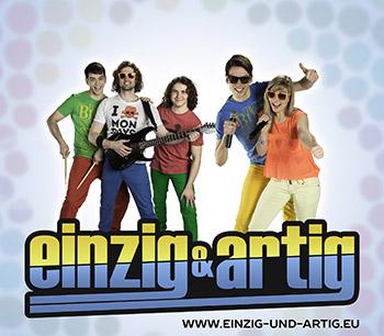Vorschaubild zur Meldung: EINZIG & ARTIG DIE PARTYBAND AUS SACHSEN-ANHALT AM 16. SEPTEMBER IN GENTHIN!