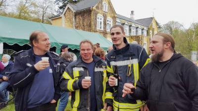Foto zur Meldung: Rang vier aus neun – Feuerwehr verstärkt erfolgreich Kalübber Kameraden