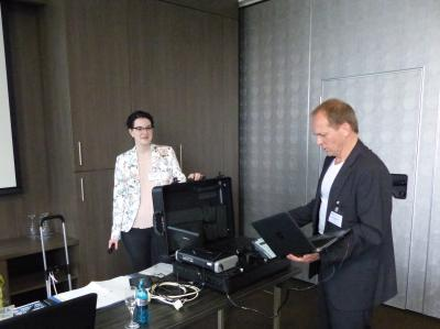 Ein Highlight war dabei der von Jakobza und Friedrich vorgeführte Technikkoffer, der alle Geräte beinhaltet.