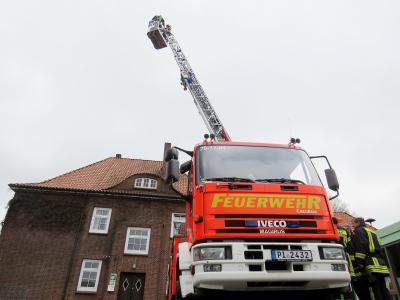 """""""Hoch hinaus"""" ging es für 20 Kameraden der Feuerwehr Seester"""