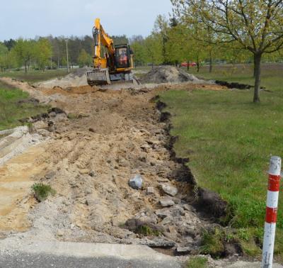 Weg damit: Statt Beton und Asphalt soll sich hier bald wieder die Natur ausbreiten.