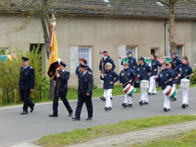 Foto zur Meldung: 112 Jahre Freiwillige Feuerwehr Kletzke und 710 Jahre Kletzke