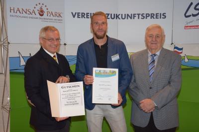 Foto zu Meldung: Vereins-Zukunftspreis 2016/2017