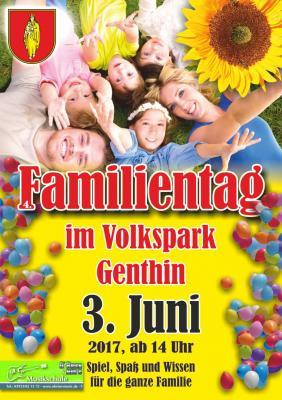 Vorschaubild zur Meldung: 4. Familientag im Genthiner Volkspark