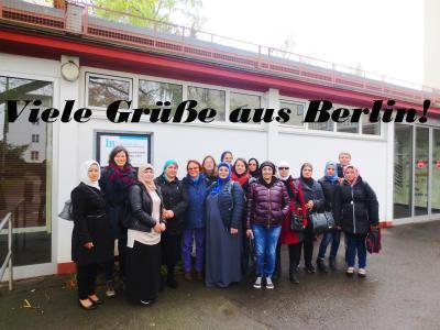 """Foto zu Meldung: Das """"Café Halva"""" Team bildet sich weiter – unser Ausflug nach Berlin"""