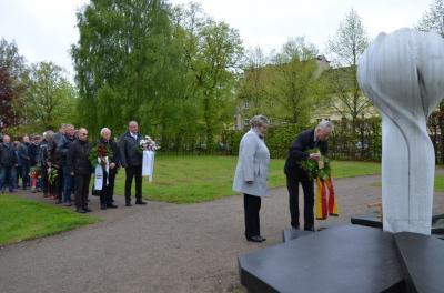 Gedenken für alle Kriegsopfer am 8. Mai 2017 in der Hansestadt Demmin