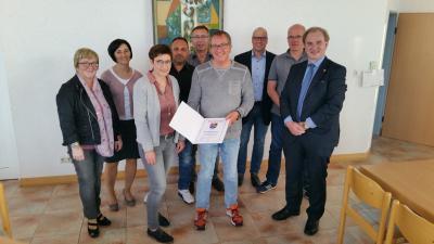 Vorschaubild zur Meldung: Gemeinderat Liebshausen wählt Matthias Merscher zum Ortsbürgermeister