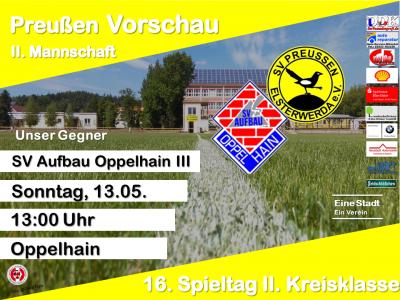 Vorschaubild zur Meldung: +++ 16. Spieltag 2. Kreisklasse +++