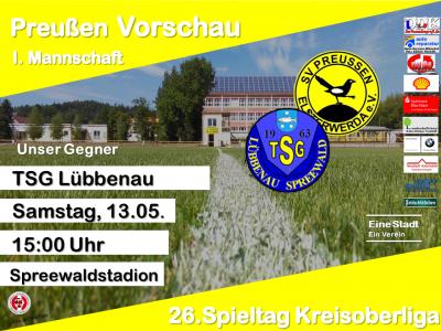 Vorschaubild zur Meldung: +++ 26. Spieltag Kreisoberliga +++