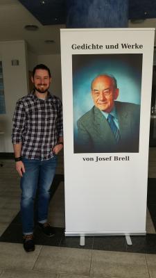 Vorschaubild zur Meldung: Gedichte und Werke von Josef Brell – Ausstellung im Rathaus noch bis 24. Mai