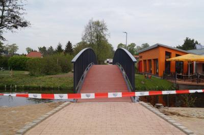 Foto zur Meldung: Freigabe der Hafenbrücke