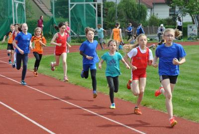 abschließender 800m-Lauf