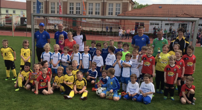 Foto zur Meldung: Bambini Turnier beim ESV Lok Falkenberg