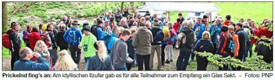 Vorschaubild zur Meldung: 550 Wanderer waren mit Genuss am Fluss