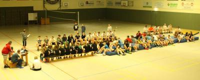 Foto zur Meldung: Schulinternes Volleyballturnier