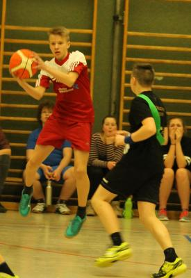 Foto zur Meldung: Schulinternes Basketballturnier