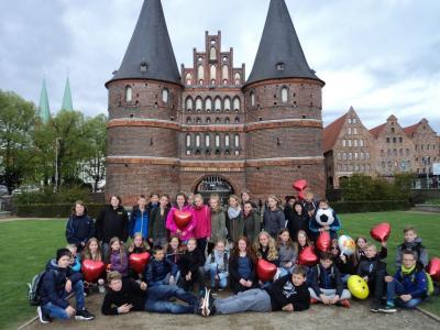 Foto zur Meldung: Klassenfahrt der 6. Klassen nach Lübeck