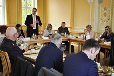 Der Präventionsrat des Landkreises Oberspreewald-Lausitz kam zu seiner ersten Sitzung in diesem Jahr zusammen. Foto Landkreis