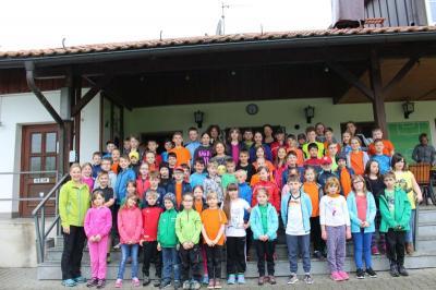 """Foto zur Meldung: """"Lauf dich fit"""" – Auch die Grundschule Prackenbach macht mit"""