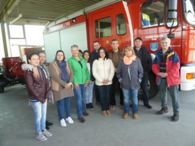 Foto zu Meldung: Feuerwehr im Deutsch-Unterricht