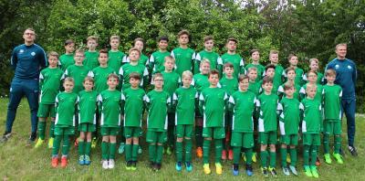Vorschaubild zur Meldung: Fußballcamp der VfL Wolfsburg Fußballschule in Bleicherode zu Gast