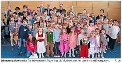 Vorschaubild zur Meldung: Partnerkonzert der Kreismusikschule
