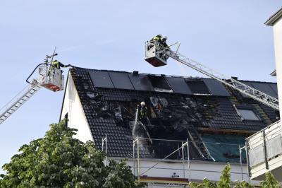 Foto zu Meldung: Feuer im Herzen Dellbrücks