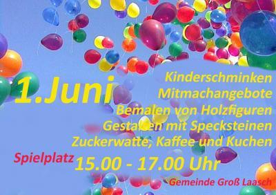 Foto zur Meldung: Groß Laasch - Kinderfest zum Kindertag am 1. Juni 2017