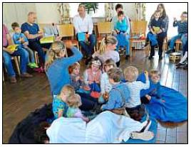 Vorschaubild zur Meldung: Aktive Teilnahme beim Kindergottesdienst