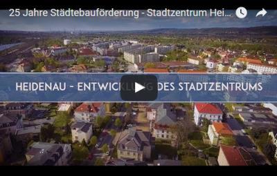 Foto zur Meldung: 25 Jahre Städtebauförderung - Stadtzentrum Heidenau