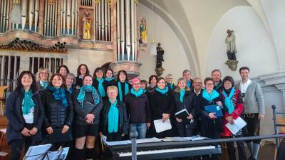 Vorschaubild zur Meldung: Musikalische Gestaltung der Feier zur ersten Heiligen Kommunion in St. Ulrich Wertach