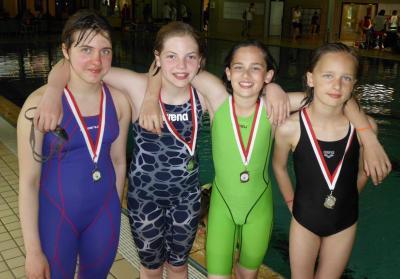 Foto zur Meldung: Neuer Vereinsrekord beim Schwimmfest in Alfeld